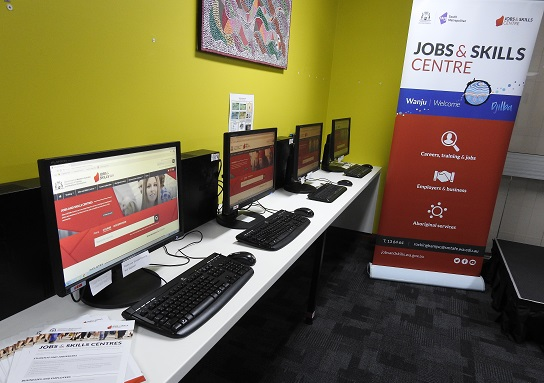 A Jobs and Skills Centre