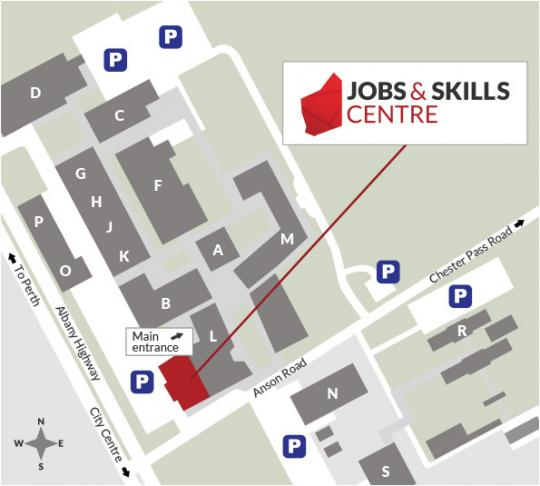albany jobs and skills centre now open