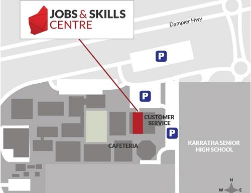 Karratha Jobs and Skills Centre is now open.