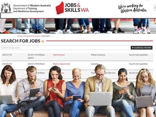 Jobs and careers | Jobs and Skills WA