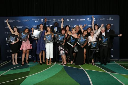 WA Training Awards group shot of winners in 2018