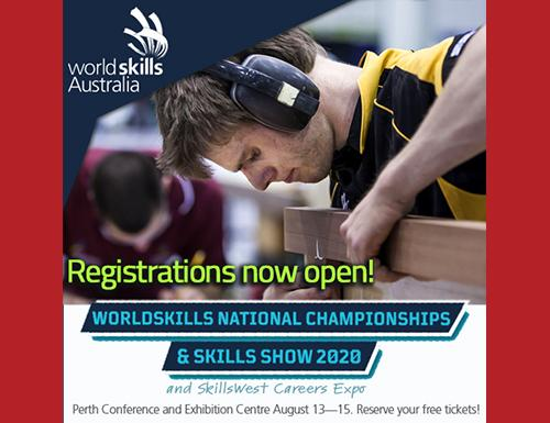 WorldSkills male competitor