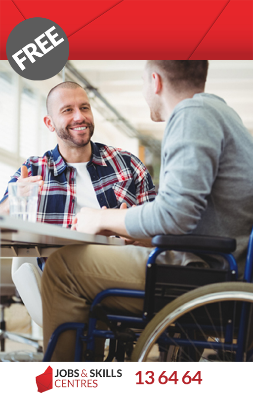 Get skills ready in disability support.