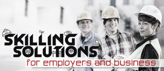 Skilling solutions for employers and business.