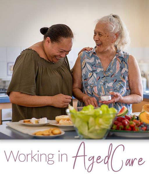 A career in aged care.